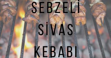 Sebzeli Sivas Kebabı