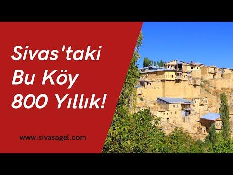 Divriği Çiğdemli Köyü- Türklerin Anadolu'daki İlk Yerleşim Yerlerinden 800 Yıllık Köy!